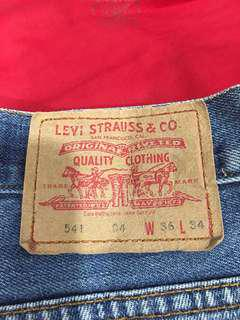 Limited edition Levi's jeans