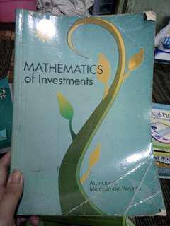 Mathematics ( Investment, statistics, algebra, business math)