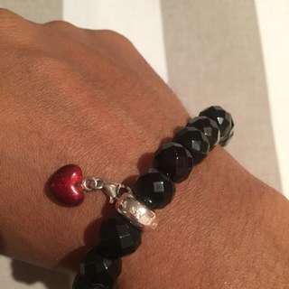 Thomas Sabo Charm Bracelet And Heart Charm