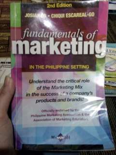 Marketing, History, Filipino, Economics, english