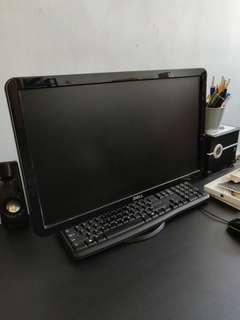 Dell full HD 1080p 21 inch monitor