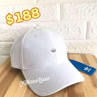 ⚠️特價⚠️Adidas 細金屬Logo Cap