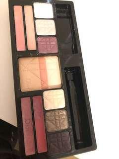 Dior powder, eyeshadows and lipgloss