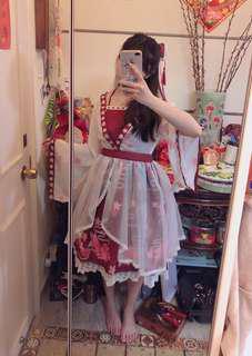 中華風lolita金魚姬