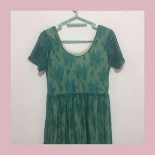 Dress Broklat Emerald Green