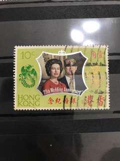 英女王銀婚紀念(包郵寄費)