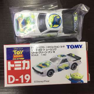 Tomica D-19 三眼仔 白色 車仔