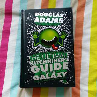 The ultimate hitchhiker guide to the galaxy - leatherbound