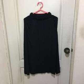 🚚 (全新)黑棉裙(s)