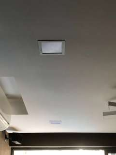 """6"""" LED downlight with holder"""