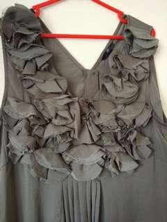 H&M Green Flower Dress