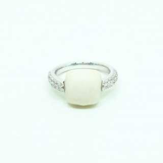 18K WG Diamond & Gems Ring