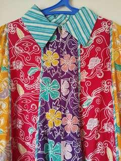 Colourful Batik Dress