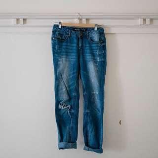Boyfriend Ripped Jeans