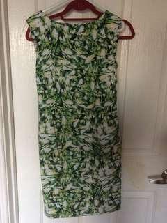 Size 8 floral work dress