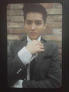 EXO Growl Kris Official Photocard