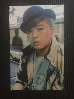 Super Junior BONAMANA Shindong Official Photocard