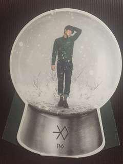 EXO Miracles in December TAO snow globe