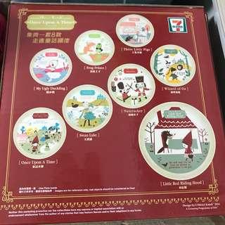 7-11 童話故事系列碟全套 one set 八隻小紅帽碟