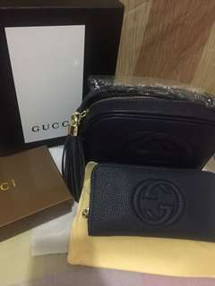 Pair Sale📌Sling Bag with long wallet