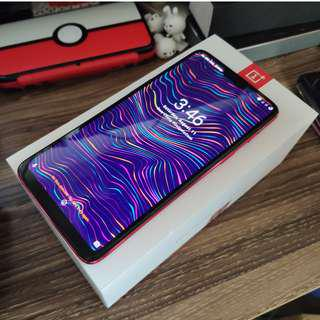 [Local Set] OnePlus 6 128GB 8GB Red