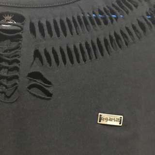 [REPRICE] Spyderbilt ripped t-shirt