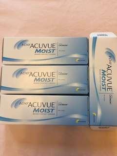 1 Day Acuvue Moist -2.5