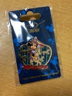 米妮迪士尼襟章(金卡會員)