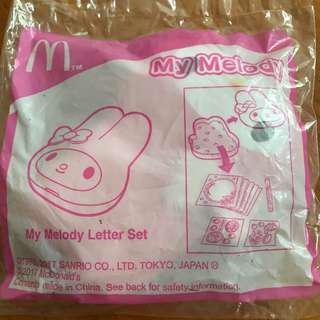 麥當勞開心樂園餐玩具 My Melody 一套4件
