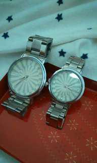 Jam tangan couple Rp.65.000 / 2pcs