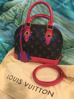 Louis Vuitton alma bb totem limited edition