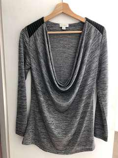 Witchery cowl neck top