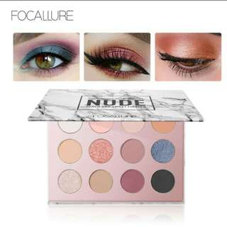 Focallure eyeshadow colorful set 12 color