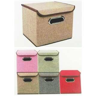 宅配免運費.彩色方型收納箱.整理箱.可折疊可堆疊.收拾小物更方便