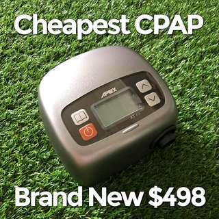 CHEAPEST CPAP $498, APEX NIB