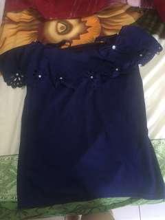 Sabrina Navy Blue Top
