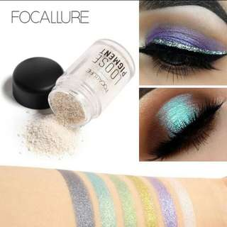New! Focallure loose pigment colorful