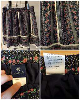 🚚 【F】S~XL可穿 蕾絲碎花短裙