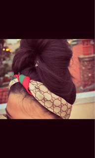 Gucci hair band