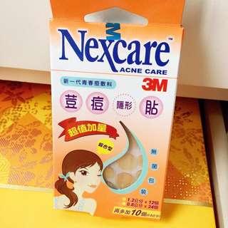 全新未開3M Nexcare ACNE CARE 荳痘隱形貼暗瘡貼