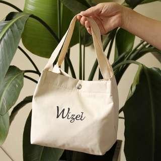 Wizel ~ 字母 手提便當包保溫保冷袋