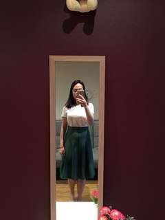 Brand new princess highway green skirt