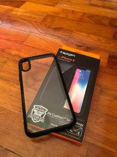 Spigen iPhone X casing for sale!