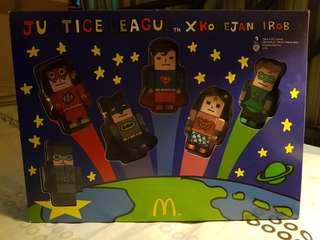 McDonald's - RARE Lego Justice League Collectible Box Set