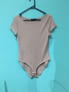 Tan bodysuit