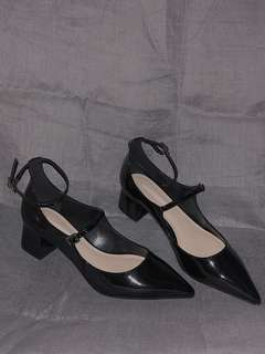 Charles&Keith Mary-jane heeled shoes