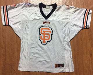 San Francisco Giants Jersey Authentic