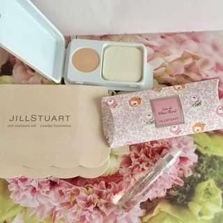 Jill Stuart 粉餅 perfume set