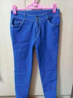Blue Soft Pants