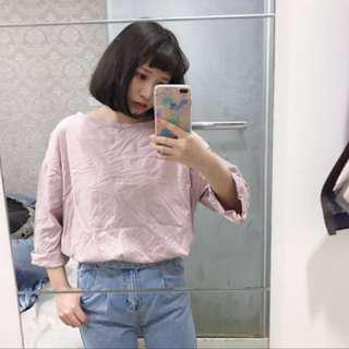 二手衣服 粉色 寬鬆